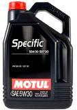 моторное масло Motul Specific 504 00 507 00 5w-30 (5л)