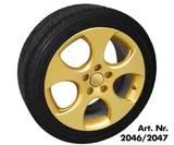 Краска золотая-металик (плёнка-спрей) SPRAY FILM FOLIATEC лучше чем plasti dip! 2046
