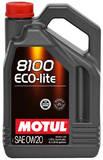 моторное масло Motul 8100 Eco-lite 0w20 (4л)