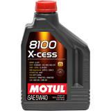 моторное масло Motul 8100 X-Clean 5w-40 (2л)
