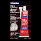 ABRO Герметик прокладок силиконовый (красный) 85г