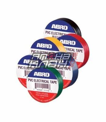 ABRO Изолента (красная) 19мм-9.1м