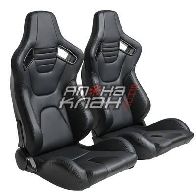 Кресло спортивное Recaro Sportster Elite CS style черное