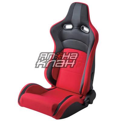 Кресло спортивное TBOX Sportster Style Red/Black
