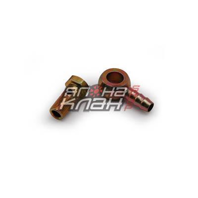 Банжо-набор короткий М12*1.25 - 10мм сталь
