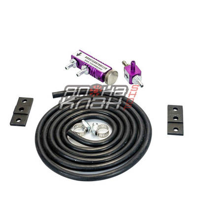 Буст контроллер механический фиолетовый