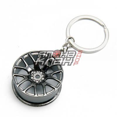 Брелок Колесный диск BBS DTM (gun metal)