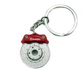 Брелок тормозной диск Brembo красный