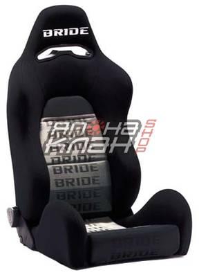 Кресло спортивное Bride Ergo II черные