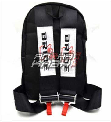Рюкзак Bride ремни Bride черные