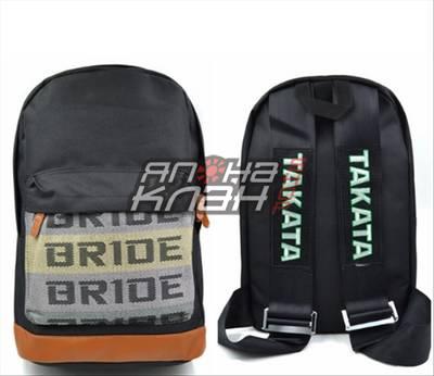 Рюкзак Bride ремни Takata черные