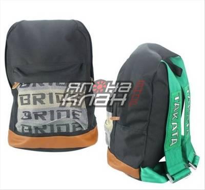 Рюкзак Bride ремни Takata зеленые
