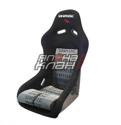 Кресло спортивное Bride VIOS Low Max черный