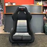 Кресло спортивное Bride VIOS Low Max XL черный БРАК!