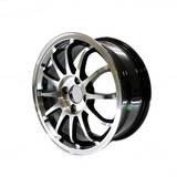 Диски Rays CE28 R15 6.5J ET38 PCD4*100 Silver/black polished lip