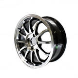 Диски Rays CE28 R15 6.5J ET38 PCD4*100 Silver/black polished lip