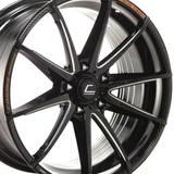 Диски COSMIS Racing S2 18X8,5 5X114,3 ET30 BLACK + MS