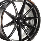 Диски COSMIS Racing S2 18X8,5 5X114,3 ET30 BLACK + MS