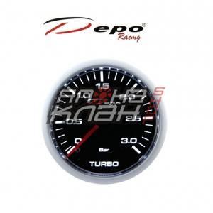 Датчик DEPO WS-W 52мм механический boost (Давление турбины) 3 bar