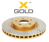 Тормозной диск DBA X GOLD 2735X HIGHLANDER 10-13, NX 14- задний