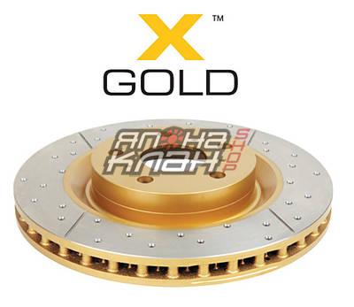 Тормозной диск DBA X GOLD 2722X Toyota LC 200 / Lexus LX570 передний