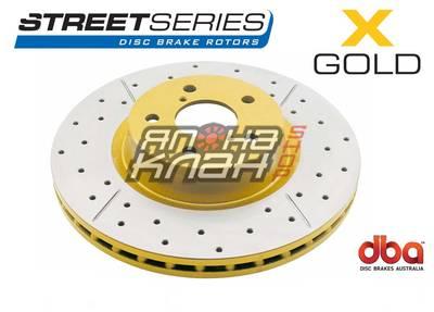 Тормозной диск DBA X GOLD 2723X Toyota LC 200 / Lexus LX570 задний