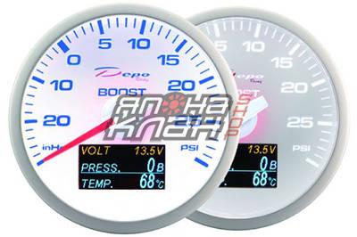 Датчик DEPO white 4in1 boost/volt/op/ot