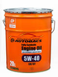 Моторное масло AUTOBACS Fully Synthetic 5W-40 SN/CF (20л)