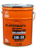Моторное масло AUTOBACS Fully Synthetic 5W-30 SN/CF/GF-5 (20л)