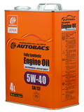 Моторное масло AUTOBACS Fully Synthetic 5W-40 SN/CF (4л)