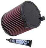 Воздушный фильтр нулевого сопротивления K&N E-2014 AUDI A3 ,1.6L-L4, 2003
