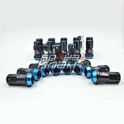 Гайки колесные кованые Max Guard Racing 20шт М12*1.5 Синие