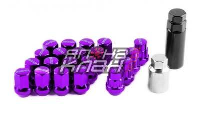 Гайки колесные RAYS стальные М12*1.5 Фиолетовые