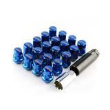 Гайки колесные RAYS стальные М12*1.5 Синие