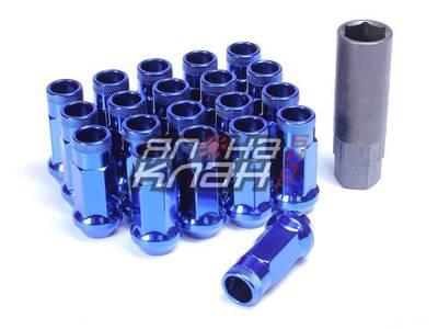 Гайки колесные стальные Muteki SR48 style M12*1.5 - Blue