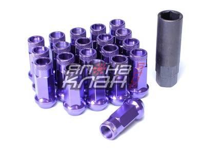 Гайки колесные стальные Muteki SR48 style M12*1.5 - Purple