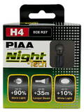 PIAA NIGHT TECH (TYPE H4) HE-820 (3600K)