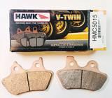 Колодки тормозные HMC5015 HAWK Sintered Metallic, HARLEY DAVIDSON