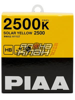 PIAA SOLAR YELLOW (H8) (2500K)