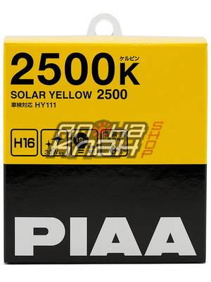 PIAA SOLAR YELLOW (H16) (2500K)