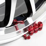 Комплект ниппелей алюминиевых (сборно-разборные) 4шт Красный