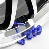Комплект ниппелей алюминиевых (сборно-разборные) 4шт Синий