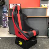 Кресло спортивное Ковш TBOX RACE SPEC Стальной каркас red/black