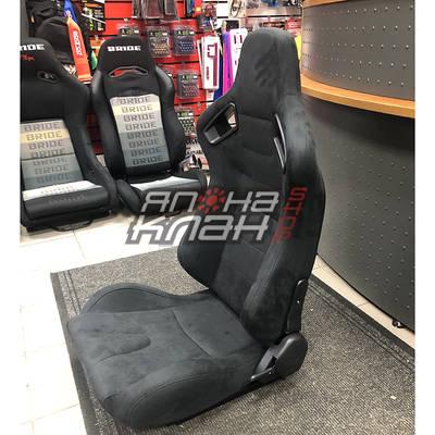 Кресло спортивное Recaro Sportster CS style черная замша