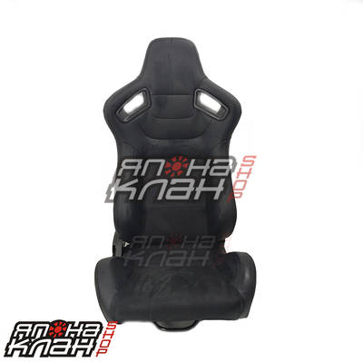 Кресло спортивное Recaro Sportster CS style черные + Алькантара