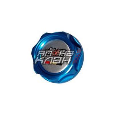 Крышка масляная Honda Mugen синяя