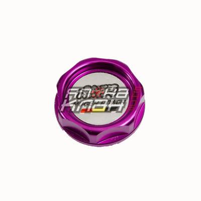 Крышка масляная Honda Mugen фиолетовая