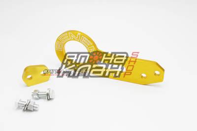 Крюк буксировочный BENEN с углом золотой