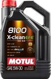 Моторное масло Motul 8100 X-clean EFE 5w-30 (4л)