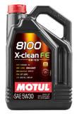 моторное масло Motul 8100 X-Clean FE 5w-30 (4л)